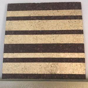 Other - Gold Metallic Cork board
